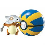 Figurine Pokémon Clip'n Carry Poké Ball - Osselait + Rapide Ball