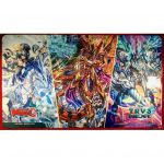 Tapis de Jeu CardFight Vanguard Flower Princess Of Beautiful Winter, Inverno, Interdimensional Dragon, Crossover Dragon Et Holy Dragon, Brave Lancer Dragon