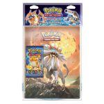 Portfolios Pokémon Soleil & Lune (10 Feuilles De 9 Cases) - Solgaleo & Lunala + 1 Booster Xy - Evolutions