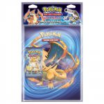 Portfolios Pokémon Xy -  Evolutions : Méga Dracaufeu Y & Raichu (10 Feuilles De 9 Cases) + 1 Booster Xy - Evolutions