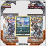 Boosters Français Pokémon Pack 2 Boosters - SL3 - Soleil Et Lune - Ombres Ardentes - Miaouss d'Alola
