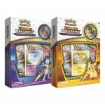 Coffret Pokémon Lot de 2 Collections avec pin's Légendes Brillantes – Pikachu et Mewtwo