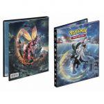 Portfolios Pokémon SL4 - Soleil Et Lune 4 - Invasion Carmin - Silvallié & Mouscoto (10 Feuilles De 4 Cases)