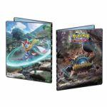 Portfolios Pokémon SL4 - Soleil Et Lune - Invasion Carmin - Engloutyran & Katagami (10 Feuilles De 9 Cases)