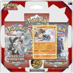 Boosters Français Pokémon Pack 3 Boosters - SL4 - Soleil Et Lune - Invasion Carmin - Lucario