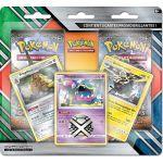Boosters Français Pokémon Duo Pack - 2 Boosters + 3 Holo Rare (Triopikeur, Grotadmorv & Grolem d' Alola)