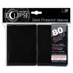 Protèges Cartes Accessoires Sleeves Ultra-pro Standard Par 80 Eclipse Noir Matte
