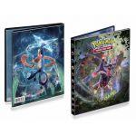 Portfolios Pokémon SL6 - Soleil Et Lune - Lumière Interdite - Mandrillon & Amphinobi (10 Feuilles De 4 Cases 80 Cartes)