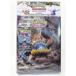 Portfolios Pokémon SL5 - Engloutyran - (10 Feuilles De 9 Cases 180 Cartes) + 1 Booster SL6 - Lumière Interdite