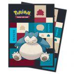 Protèges Cartes Pokémon Deck Protector Ultra Pro - Ronflex Par 65