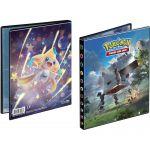 Portfolios Pokémon SL7 - Soleil Et Lune - Tempête Céleste - Jirachi & Ama-ama (10 Feuilles De 4 Cases 80 Cartes)