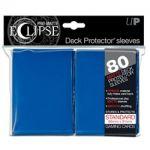 Protèges Cartes Standard  Sleeves Ultra-pro Standard Par 80 Eclipse Bleu Foncé Matte