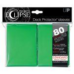 Protèges Cartes Accessoires Sleeves Ultra-pro Standard Par 80 Eclipse Vert Foncé Matte