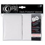 Protèges Cartes Accessoires Sleeves Ultra-pro Standard Par 80 Eclipse Blanc Matte