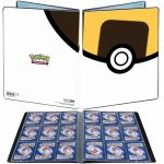 Portfolios Pokémon Hyper Ball (Ultra Ball)  - 90 Cases - 10 Pages De 9 Cases