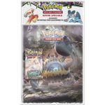 Portfolios Pokémon SL5 - Engloutyran - (10 Feuilles De 9 Cases 180 Cartes) + 1 Booster SL7 - Tempête Céleste