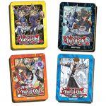 Tin Box Yu-Gi-Oh! Lot De 4 Mega-tin 2017 & 2018 - Yugi, Seto Kaiba, Jaden & Yusei