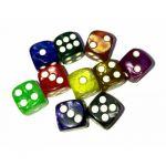 Produits Dérivés Yu-Gi-Oh! Un Dé À 6 Faces - Marble 12 mm (couleur Selon Stock)