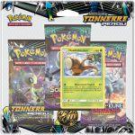 Coffret Pokémon Tripack 3 Boosters - SL8 - Soleil Et Lune 8 - Tonnerre Perdu - Noadkoko d'Alola
