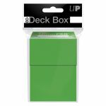 Deck Box  Deck Box Ultrapro - Vert Citron (Solid Green)