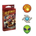 Deck de Faction KeyForge Brobnar Logos Mars