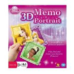 Ludo-Educatif Enfant 3D Memo Portrait Disney Princess