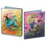 Portfolios Pokémon SL9 - Soleil Et Lune 9 - Duo de Choc - Ectoplasma/Mimiqui & Celebi/Florizarre (14 Feuilles De 9 Cases 252 Cartes)