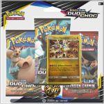 Boosters Français Pokémon Tripack 3 Boosters - SL9 - Soleil Et Lune 9 - Duo de Choc - Engloutyran