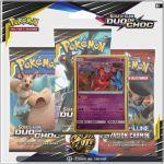 Boosters Français Pokémon Tripack 3 Boosters - SL9 - Soleil Et Lune 9 - Duo de Choc - Deoxys