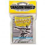 Protèges Cartes Format JAP Yu-Gi-Oh! Sleeves Dragon Shield Mini Par 50 Silver (Lisse)