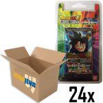 Boosters Français Dragon Ball Super Boite de 24 Boosters Les Mondes Croisés - Sous Blister Officiel Bandai