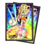 Protèges Cartes Dragon Ball Super Gogeta (Sleeves par 65ct)