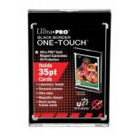Protèges Cartes Standard  Magnetic Holder One-touch Black Border