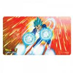 Tapis De Jeu - Vegeta SSJ Blue Accompagnés D'un Tube De Protection
