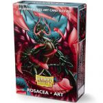 Protèges Cartes Format JAP  Sleeves Dragon Shield Mini Rosacea Art par 60
