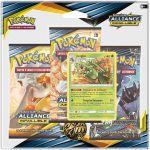 Boosters Français Pokémon Tripack 3 Boosters - SL10 - Soleil Et Lune 10 - Alliance Infaillible - Jungko