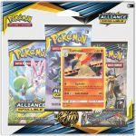 Boosters Français Pokémon Tripack 3 Boosters - SL10 - Soleil Et Lune 10 - Alliance Infaillible - Typhlosion