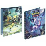 Portfolios Pokémon SL10 - Soleil Et Lune 10 - Alliance Infaillible - Zeraora & Mewtwo (10 Feuilles De 4 Cases 80 Cartes)