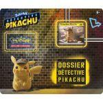Boosters Français Pokémon Tripack 3 Boosters - Dossier Détective Pikachu