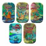 Pokébox Pokémon Kanto Friends Mini Tin - Lot de 5