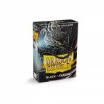 Protèges Cartes Format JAP Yu-Gi-Oh! Sleeves Dragon Shield Mini Noir par 60
