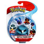 Figurine Pokémon 3 Battle Figure Set - Métang - Flamiaou - Cosmog