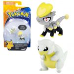 Figurine Pokémon Sabelette d'Alola vs Bébécaille