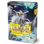 Protèges Cartes Format JAP Yu-Gi-Oh! Sleeves Dragon Shield Mini Blanc Matte - par 60