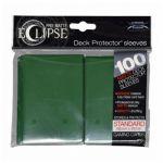 Protèges Cartes Accessoires Sleeves Ultra-pro Standard Par 100 Eclipse Vert Foncé Matte