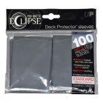 Protèges Cartes Accessoires Sleeves Ultra-pro Standard Par 100 Eclipse Gris Matte