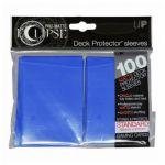 Protèges Cartes Accessoires Sleeves Ultra-pro Standard Par 100 Eclipse Bleu Roi Matte