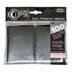 Protèges Cartes Accessoires Sleeves Ultra-pro Standard Par 100 Eclipse Noir Matte