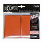 Protèges Cartes Standard  Sleeves Ultra-pro Standard Par 100 Eclipse Orange Citrouille (Pumpkin Orange) Matte