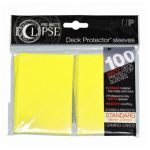 Protèges Cartes Standard  Sleeves Ultra-pro Standard Par 100 Eclipse Jaune Matte